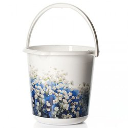 Ведро Деко Голубые Цветы (М2425) (5 л)