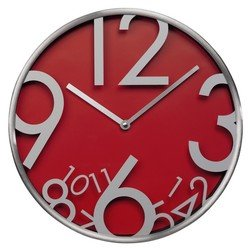 Часы настенные Hama AG-300 (красный)