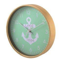 Часы настенные Hama HG-260 (зеленый)