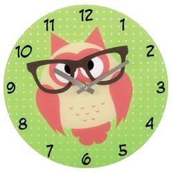 Часы настенные Hama Owl (зеленый)