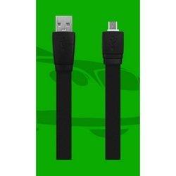 Дата-кабель для Samsung USB - microUSB (Oxion OX-DCC017BK) (черный)