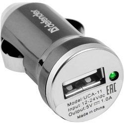 Автомобильное зарядное устройство Defender UCA-11 (серый)