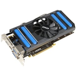 Видеокарта MSI GeForce GTX 660 Ti N660TI-2GD5/OC (941Mhz, PCI-E 3.0, 2048Mb, 6008Mhz, 192 bit, 2xDVI, HDMI, HDCP)