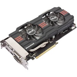 Видеокарта Asus GeForce GTX 660 GTX660-DC2T-2GD5 (1072Mhz, PCI-E 3.0, 2048Mb, 6108Mhz, 192 bit, 2xDVI, HDMI, HDCP)