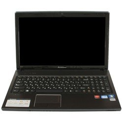 "Lenovo G580-B9602G500R8 59-351202 (Pentium B960 2200 Mhz, 15.6"", 1366x768, 2048Mb, 500Gb, DVD-RW, NVIDIA GeForce GT 610M, Wi-Fi, Bluetooth, Win 8) Brown"