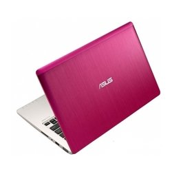 "ноутбук asus vivobook s200e (core i3 3217u 1800 mhz, 11.6"", 1366x768, 4096mb, 500gb, dvd нет, intel hd graphics 4000, wi-fi, bluetooth, win 8 64) розовый"