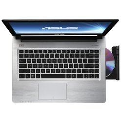 "ноутбук asus s46cm-wx052h 90ntjh414w12645813au (intel i5-3317, 4g, 500g+24g ssd, 14,0"" hd, nv gt635m 2g, wifi, bt, camera, win 8)"