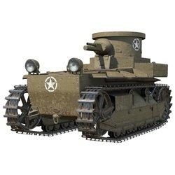 Танк T1 Cunningham