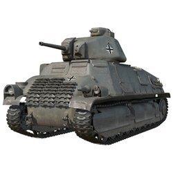 Танк Pz.Kpfw, S35 739 (f)
