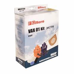 Набор фильтров Filtero VAX 01 (2) Kit Экстра
