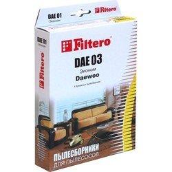 Пылесборники Filtero DAE 03 (4) Эконом