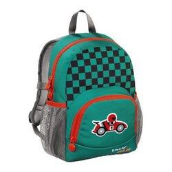 Рюкзак детский Step By Step (Junior Dressy little racer) (серо-зеленый)