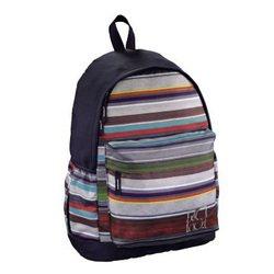 Рюкзак All Out (Luton Waterfall Stripes) (черно-фиолетовый)