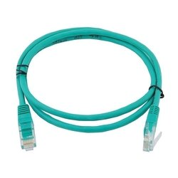 Патч-корд 2хRJ-45 кат.5e 0.2 м (Greenconnect GCR-LNC05-0.2m) (зеленый)