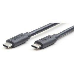 Кабель USB Type-C-USB Type-C (Cablexpert CCP-USB3.1-CMCM-1M) (черный)