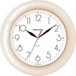 Часы настенные Тройка 71701212 (бежевый)