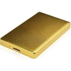 Внешний корпус для HDD (AgeStar 31UB2A15) (золотистый)