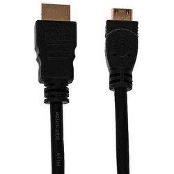 Кабель HDMI(M)-miniHDMI(M) (OXION OX-HDMIMINI1EY) (черный)