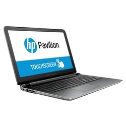 "hp pavilion 15-ab286ur (touch) (intel core i7 6500u 2500 mhz/15.6""/1366x768/8.0gb/1000gb/dvd-rw/nvidia geforce 940m/wi-fi/bluetooth/win 10 home)"