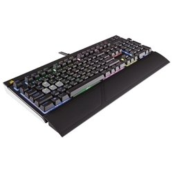 corsair strafe rgb cherry mx silent black usb