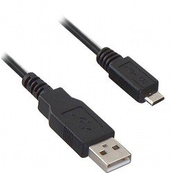 кабель usb am-microusb bm (oxion ox-usbamicrob3stdy) (черный)