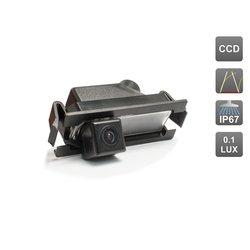 CCD штатная камера заднего вида с динамической разметкой для HYUNDAI SOLARIS Hatchback (AVIS AVS326CPR (#030))