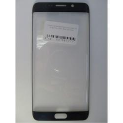Стекло экрана для Samsung Galaxy S6 Edge Plus G928 (97777) (синий) (1-я категория)