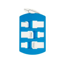 Адаптер Nano SIM - Micro - Standart исистемахранения(Deppa 74001)
