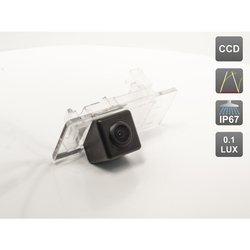 CCD штатная камера заднего вида с динамической разметкой для Skoda Superb II (2013 - ...), Octavia A7 (2013-...), Rapid (2014-...) (AVIS AVS326CPR (#134))