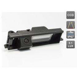 CCD штатная камера заднего вида с динамической разметкой для TOYOTA RAV4, CHERY TIGGO (AVIS AVS326CPR (#098))