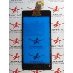 Тачскрин для Sony Xperia Z1 Compact D5503 (97208) (черный) (1-я категория)