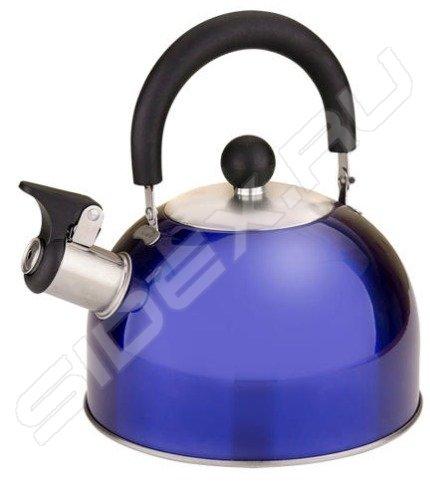 синий чайник со свистком