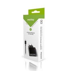Сетевое зарядное устройство SmartBuy Nova + кабель USB - microUSB (122135)