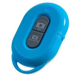 Bluetooth пульт управления камерой мобильного телефона или планшета на расстоянии, пульт для селфи (Perfeo S4 Shutter PBSS4BU) (синий)