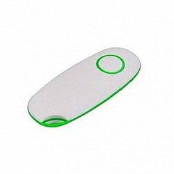 Пульт Bluetooth для селфи для мобильных телефонов Shut M Shutter (46920) (белый/зелёный)