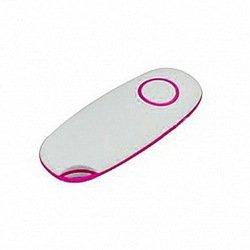 Пульт Bluetooth для селфи для мобильных телефонов Shut M Shutter (46921) (белый/розовый)