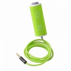 Проводной пульт управления камерой мобильного телефона или планшета, пульт для селфи (Shut M Shutter Tub) (46925) (зеленый)