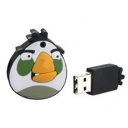 usb drive white birds 16gb