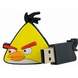 usb drive yellow birds 16gb
