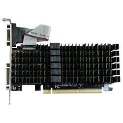GIGABYTE GeForce GT 710 954Mhz PCI-E 2.0 1024Mb 1800Mhz 64 bit DVI HDMI HDCP Silent (Retail)