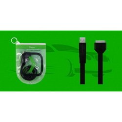 Кабель 30pin-USB для Apple iPhone 3GS,4,4S, iPad,2,3 new, iPod Nano 6, touch 4 (Oxion OX-DCC015BK) (черный)