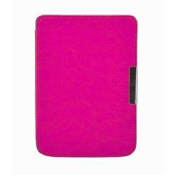 Чехол-книжка для PocketBook Touch 614, 624, 626 (Slim PB624-R01PN) (малиновый)