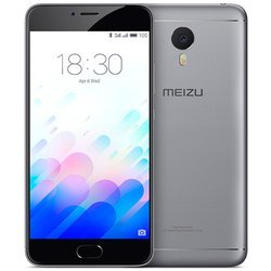 Meizu M3 Note 32Gb (черно-серый) :::