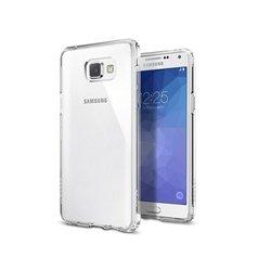 Чехол-накладка для Samsung Galaxy A5 2016 Ultra Hybrid (Spigen SGP11835) (кристально-прозрачный)