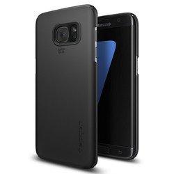 Чехол-накладка для Samsung Galaxy S7 Edge Spigen Thin Fit (556CS20029) (черный)
