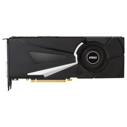 MSI GeForce GTX 1080 1632Mhz PCI-E 3.0 8192Mb 10010Mhz 256 bit DVI HDMI HDCP RTL