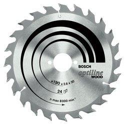 Пильный диск по дереву Bosch Optiline 2608640616