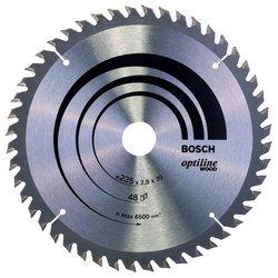 Пильный диск по дереву Bosch Optiline 2608640727