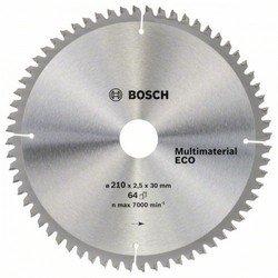 Универсальный пильный диск Bosch Multimaterial Eco 2608641803