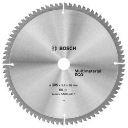 Универсальный пильный диск Bosch Multimaterial Eco 2608641808